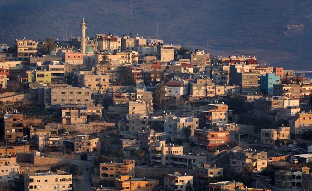 התמיכה עולה. כפר ערבי בגליל, ארכיון (צילום: פלאש 90, הדס פרוש)