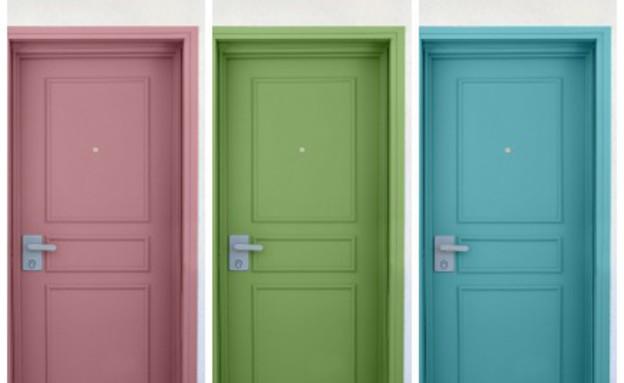 דלתות, כל גוון שתרצו (צילום: מיכל יניב)