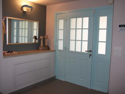 דלתות, מתכת לאחר טיפול בצבע