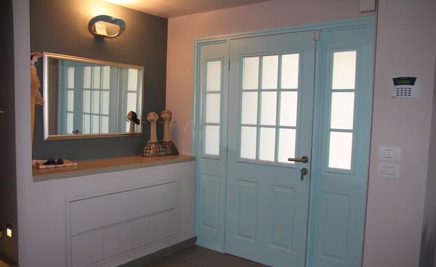 דלתות, מתכת לאחר טיפול בצבע (צילום: בני אדם)
