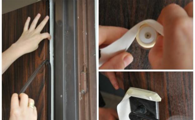 דלתות, שדרוג פלדלת  (צילום:  מיכל יניב)