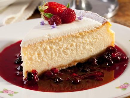 קפה לנדוור קינוח עוגת גבינה