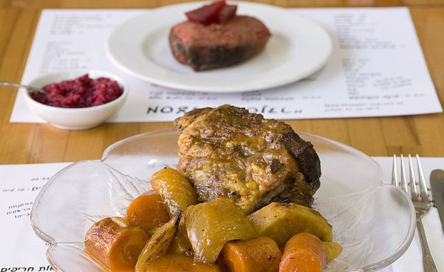 אוכל מוכן ראש השנה סנדר (צילום: בועז לביא,  יחסי ציבור )