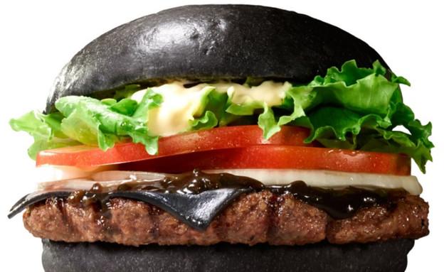 המבורגר שחור (צילום: Burger King)