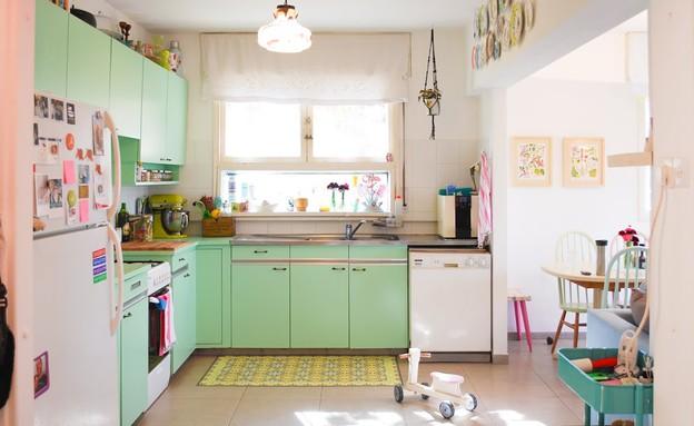 מטבח, עיצוב יערה ציקורל (צילום: קרן יצחק)