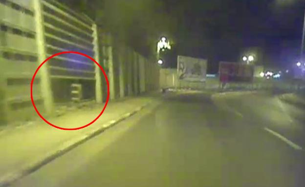 צפו בגדר הבעייתית (צילום: חדשות ערוץ 2)