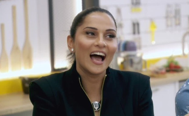 איך התמודדה רנא רסלאן עם האתגר הראשון? (תמונת AVI: מתוך הצילו! אני לא יודע לבשל, שידורי קשת)
