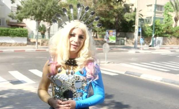 השורשים הישראליים של ליידי גאגא נחשפים (תמונת AVI: מתוך תכנית קיציס, שידורי קשת)