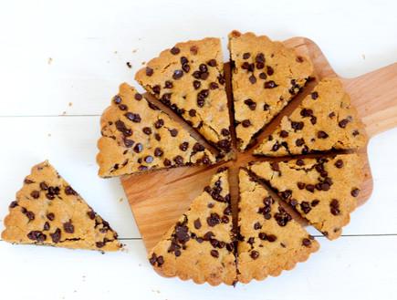 עוגיית שוקולד צ'יפס של ענקים (צילום: שרית נובק - מיס פטל, אוכל טוב)