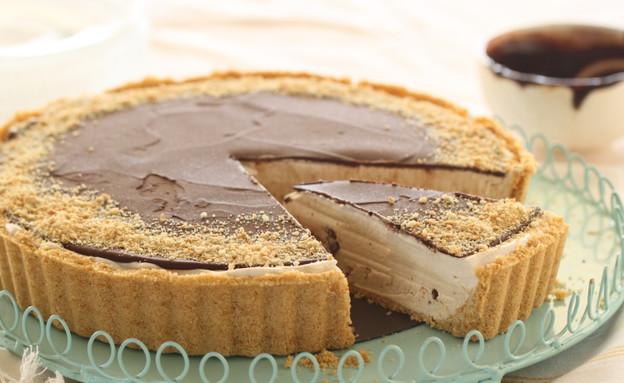 טארט פודינג מוקה ושוקולד קפוא (צילום: חן שוקרון, אוכל טוב)