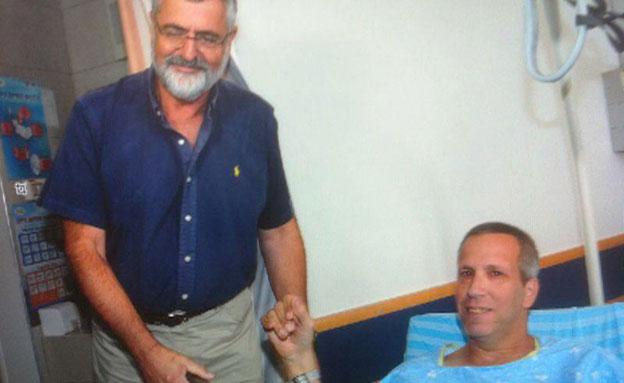 ד״ר מוטי קליין, מנהל היחידה לטיפול נמרץ כללי בסורו (צילום: חדשות 2)