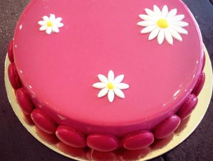 עוגת מקרון נועם פולונסקי (צילום: באדיבות נועם פולונסקי)