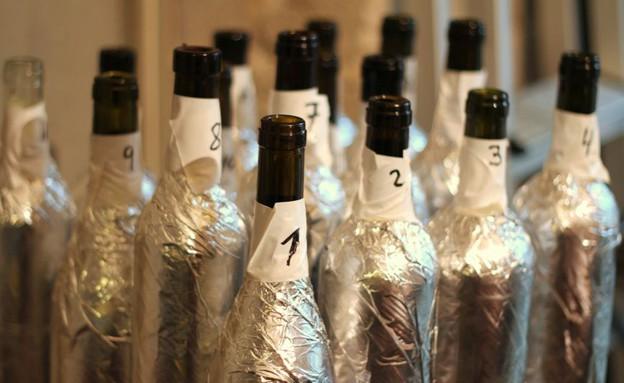 """טעימת יין בבסטה יינות (צילום: עידית נרקיס כ""""ץ, אוכל טוב)"""