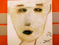 ציור של יהודה פוליקר (צילום: נופר יורן)