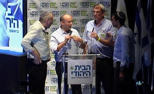 הקרב על הבית היהודי (צילום: חדשות 2)