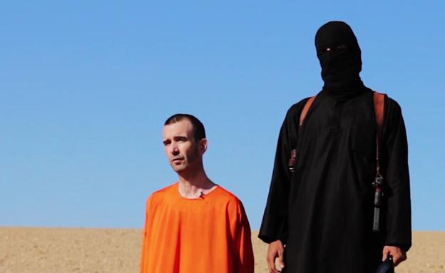 הוצאתו להורג של דיויד היינס, אתמול (צילום: ap)