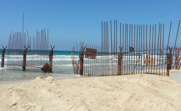 מחזירים את החוף לתושבים (צילום: חדשות 2)