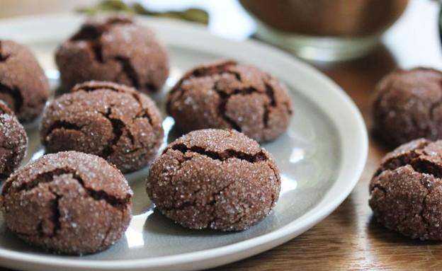 """עוגיות שוקולד דבש מתובלות (צילום: עידית נרקיס כ""""ץ, אוכל טוב)"""