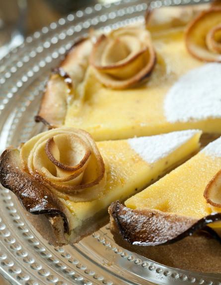 טארט שושני תפוחים של טאטי לחם
