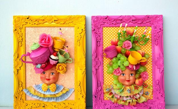 מתנות, קולאז צבעוני תלת מימדי