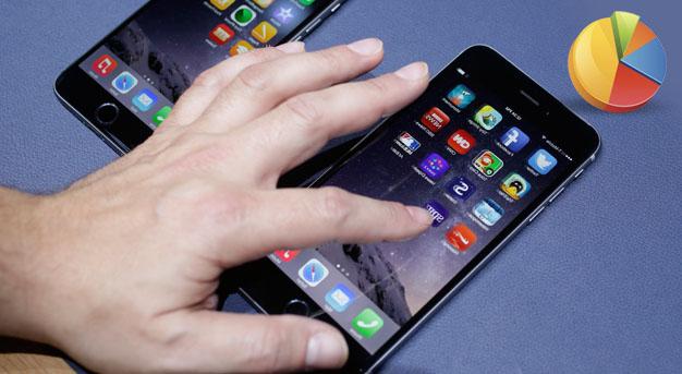 אייפון 6 סקר (צילום: ap)