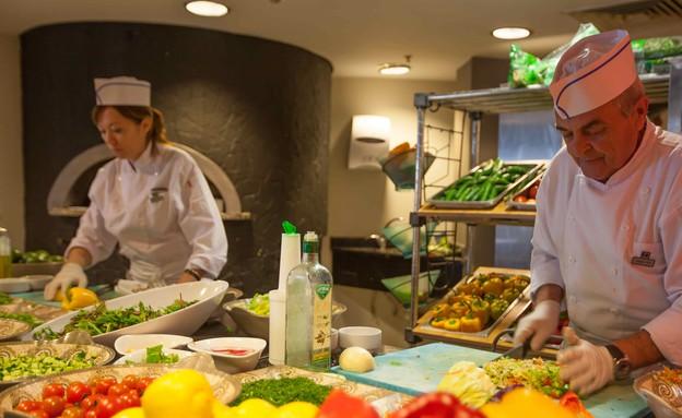 אילת, מלון יו קורל ביץ מסעדה (צילום: יורם אשהיים)