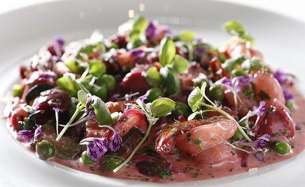 ניוקי סלק, דגים (צילום: אפיק גבאי, אוכל טוב)