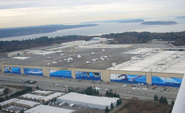 מפעל בואינג (צילום: flickr)