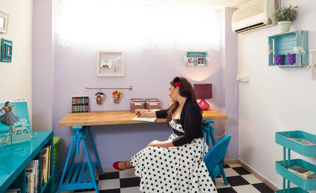 קרין גורן חדר עבודה (צילום: אודי גורן)