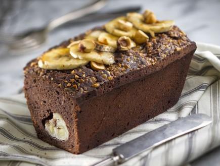 עוגת שוקולד ובננות (צילום: אנטולי מיכאלו, אוכל טוב)