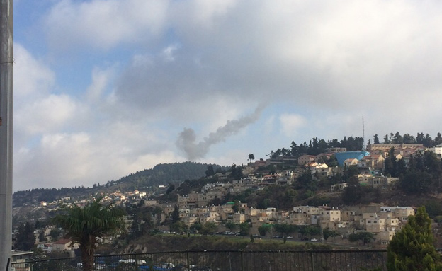 שיגור טיל פטריוט בגולן (צילום: חדשות 2)