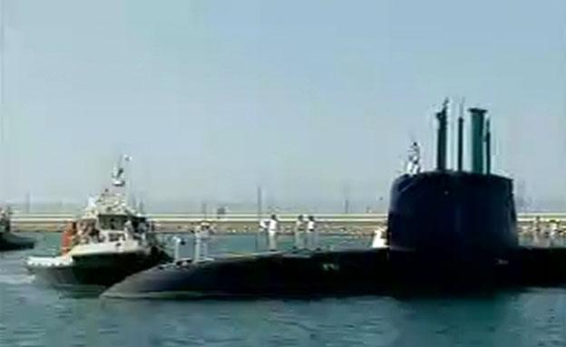 הצוללת תנין הגיעה לישראל