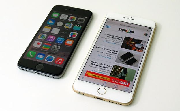 אייפון 6 פלוס (צילום: איתי מקמל)