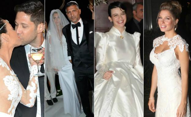 חתונות הסלבס (צילום: mako)