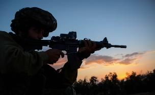"""גדוד 101 בצוק איתן (צילום: דובר צה""""ל)"""