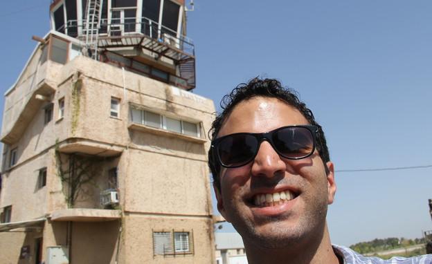 במגדל הפיקוח (צילום: אבי אליהו)