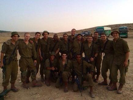 גדוד 101 בצוק איתן נוב 13