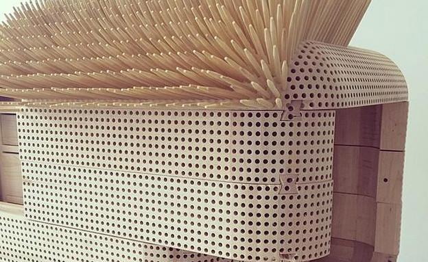 רהיטי קיפוד (צילום: sebastian errazuriz)