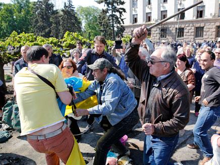 הפגנה אלימה באוקראינה, ארכיון