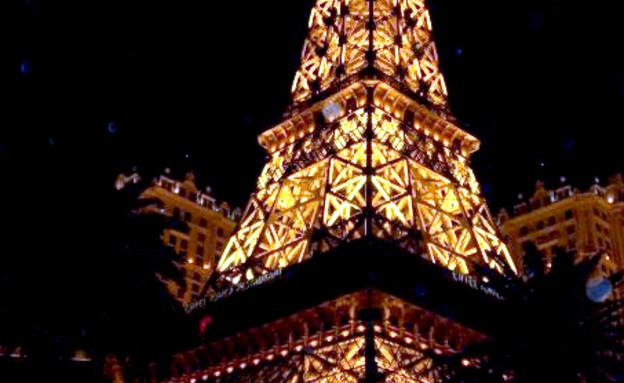 מגדל אייפל לאס וגאס קרדיט מרינה הורנסקי (צילום: מרינה הורנסקי)