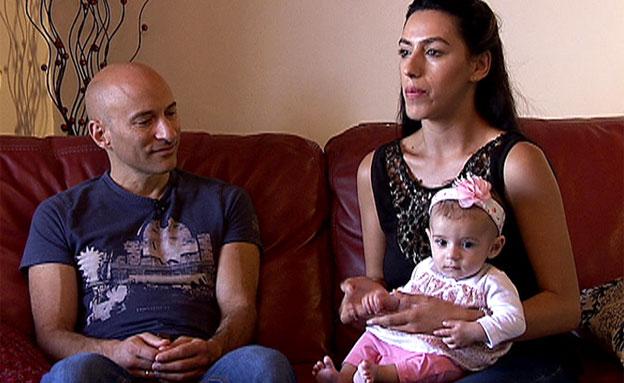 """אב יהודי-אם ערבייה: """"האהבה תנצח"""" (צילום: חדשות 2)"""