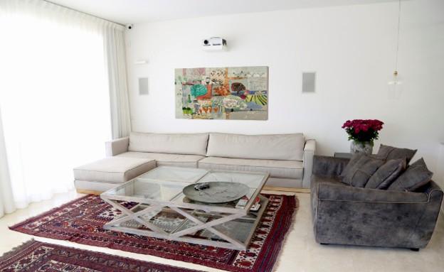 ליא אלנבוגן, פינת טלוויזיה (צילום: ליאור דנציג)