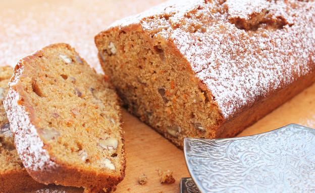 עוגת לוטוס-דבש-פקאן (צילום: אסתי רותם, אוכל טוב)