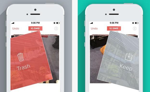 תעודד אתכם לעשות סדר בתמונות באייפון. Flic