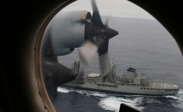 סבב החיפושים הקודם אחר המטוס המלזי (צילום: AP)
