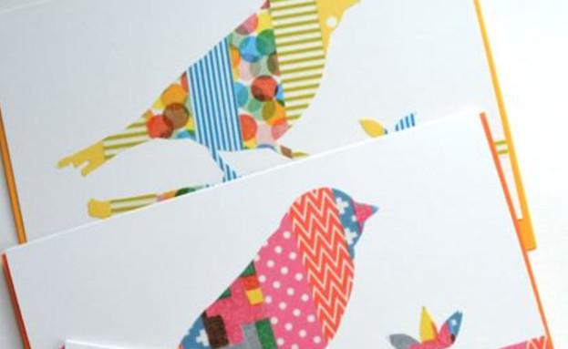 עיצובי וואשי טייפ, כרטיס ברכה, etsy (1) (צילום: ETSY)