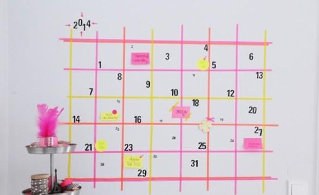 עיצובי וואשי טייפ, לוח שנה, t.decoesfera (1) (צילום: t.decoesfera)