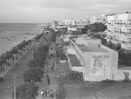 חוף הים של תל אביב 01.01.1950
