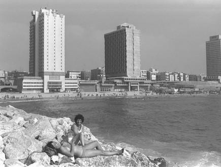 חוף תל אביב 01.07.1979