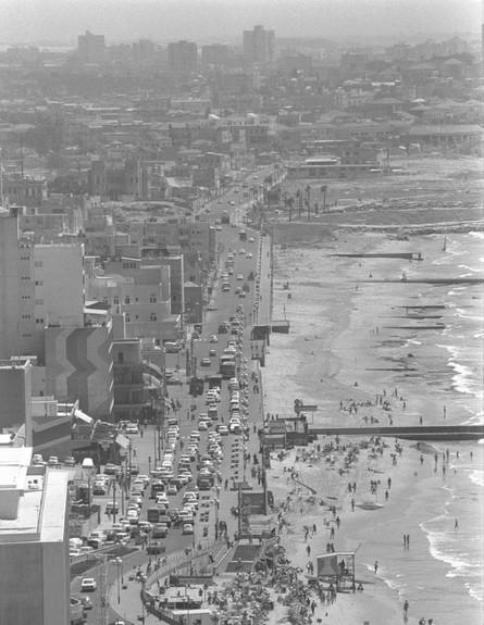 טיילת תל אביב 01.06.1973
